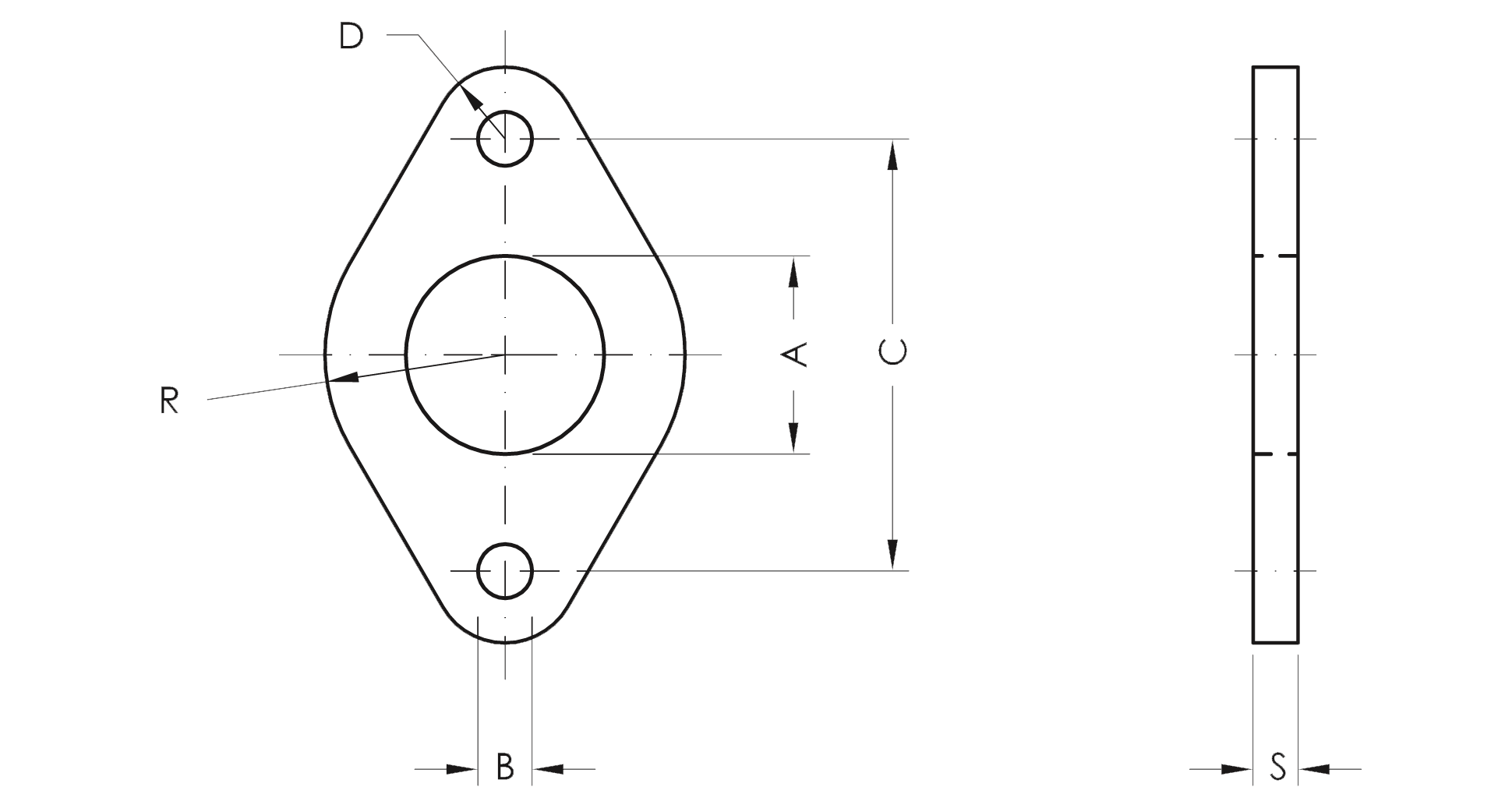Flange - Product structure