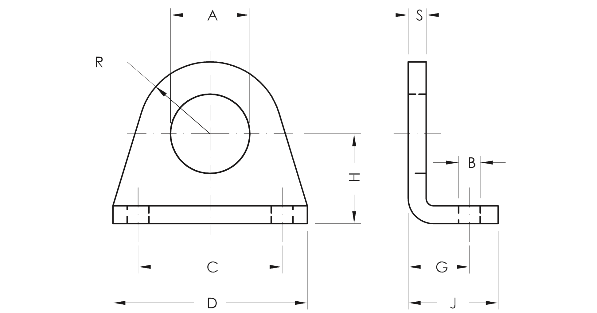 Pedestal - Product structure